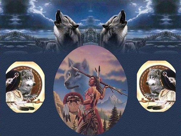 Belle image d'amerindiens.