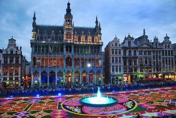 *** Tapis de fleurs 2012 de la Grand Place de Bruxelles ***